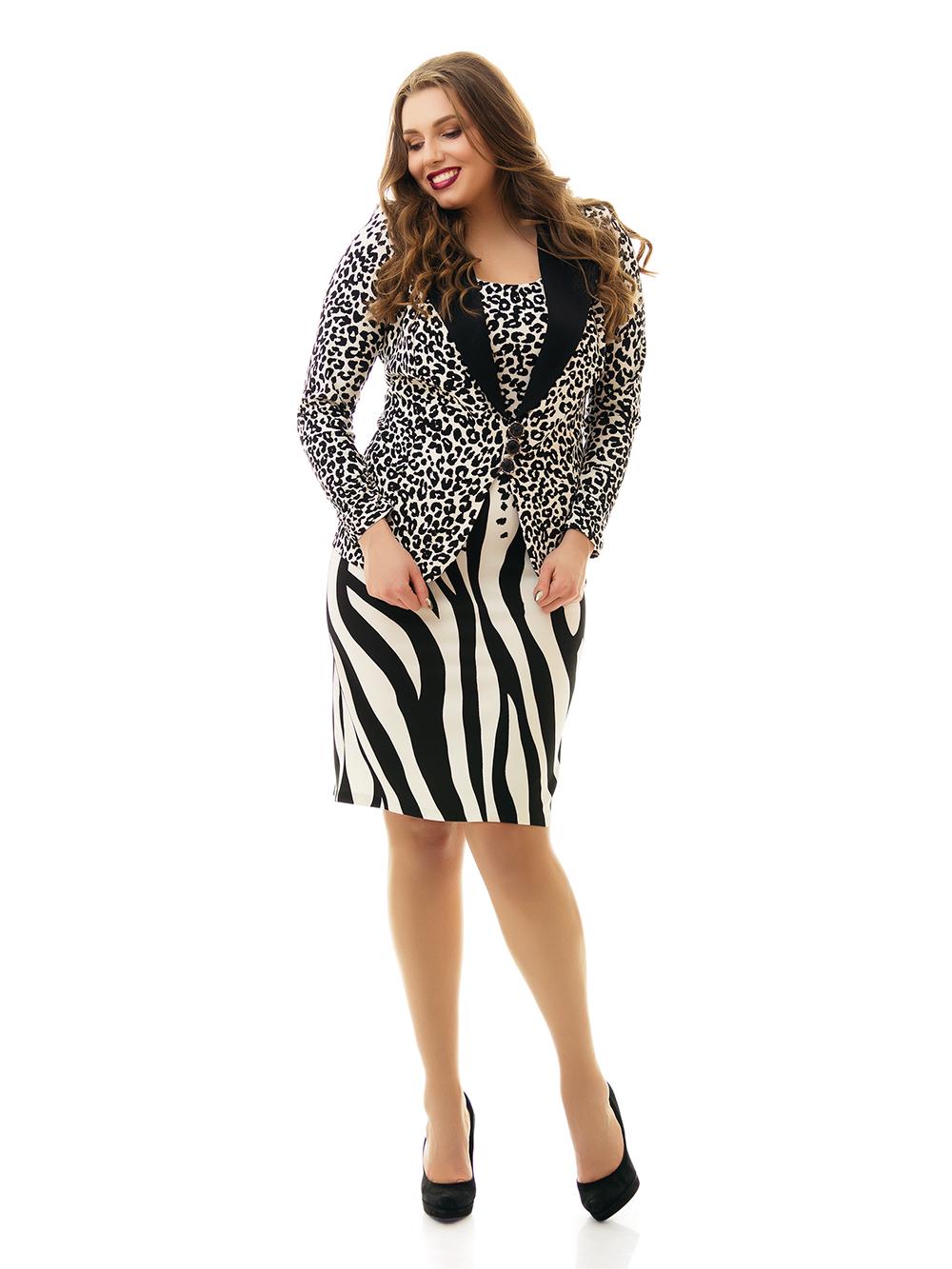 Купить костюм женский большого размера